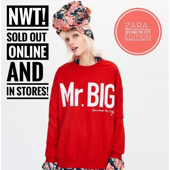 73e078fe Zara Sweaters | Sex And The City Mr Big Sweatshirt | Poshmark